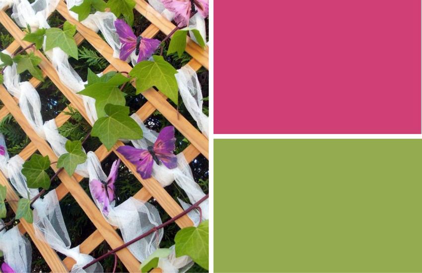 combinación de colores tendencia primavera 2017