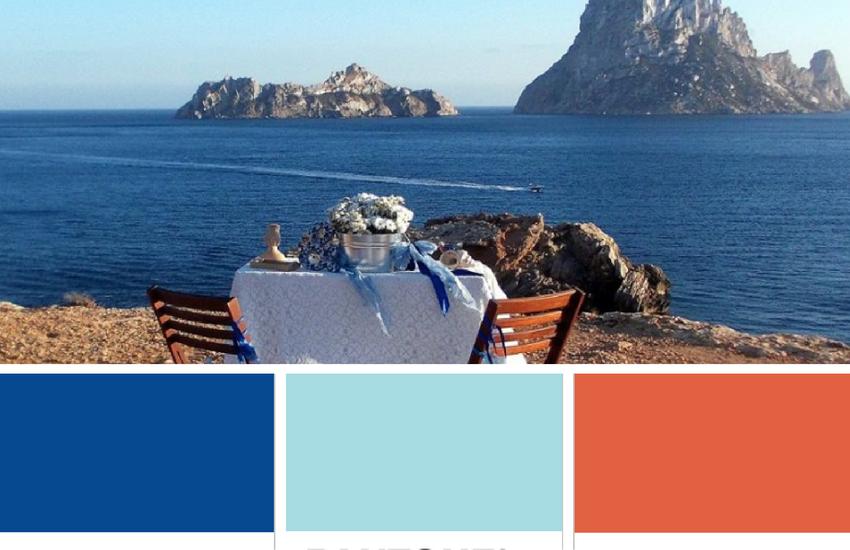 Qué colores tendencia puedes utilizar en tu boda