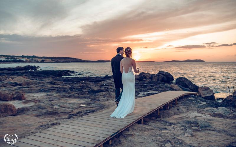 Una boda íntima y familiar